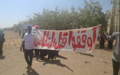 The UK Government must stand up for the rights of Sudanese protesters and healthcare workers