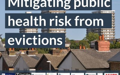 Mitigating public health risk from evictions