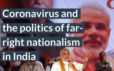 Coronavirus and the politics of far-right nationalism in India