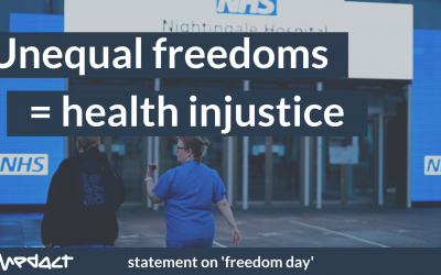 Freedom day: Unequal freedoms = health injustice