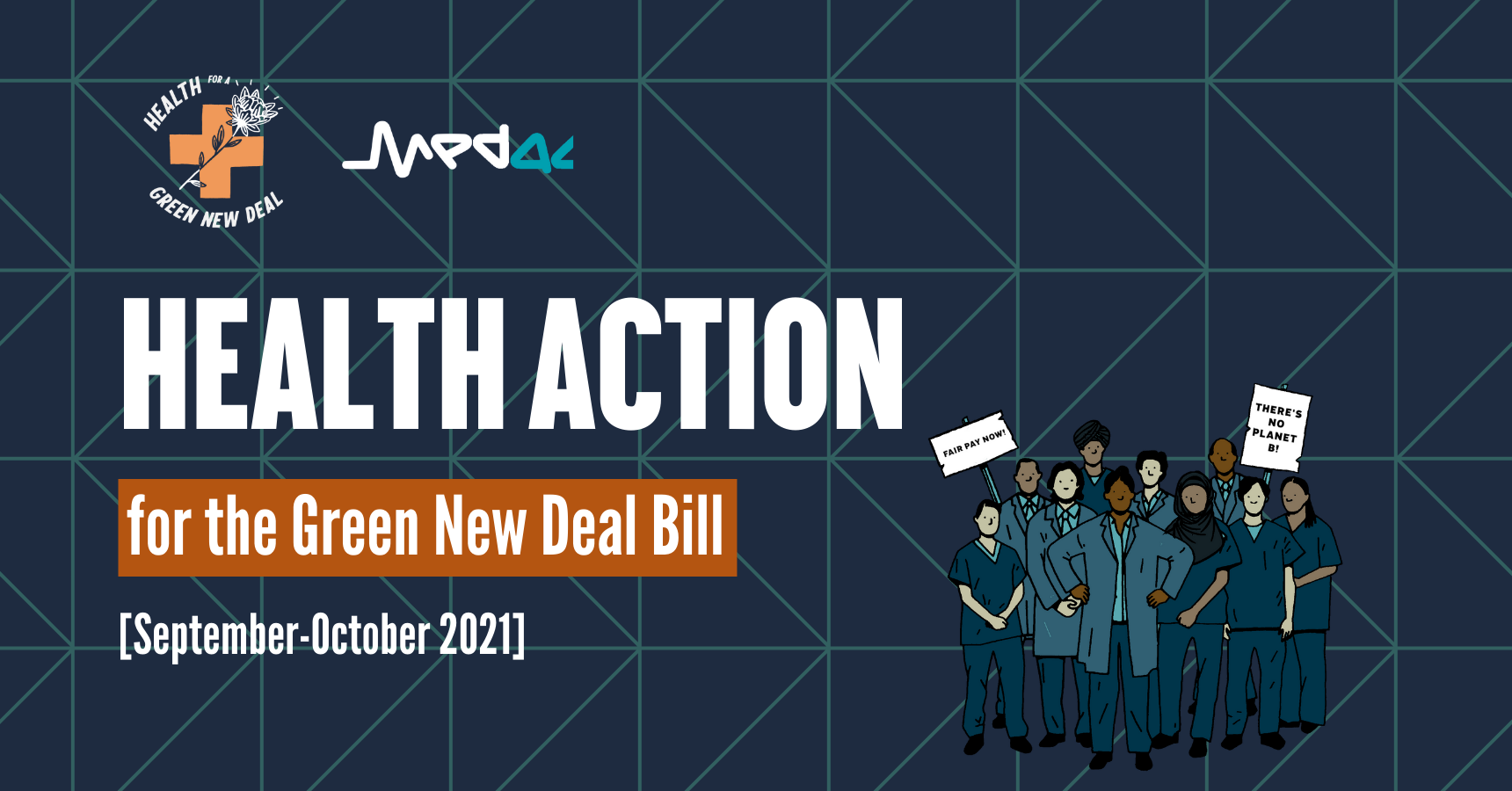 Health Action for the Green New Deal Bill, September-October 2021